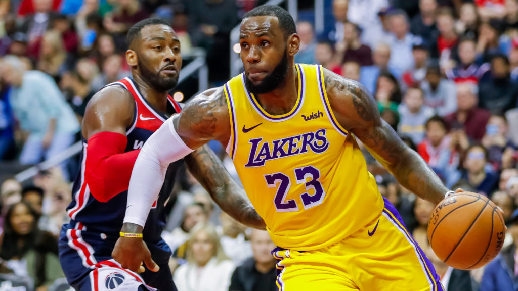 LeBron James John Wall NBA