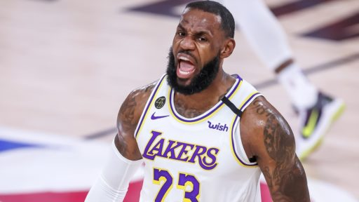 LeBron James LA Lakers NBA