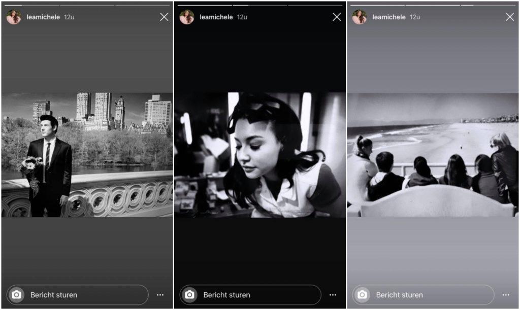 Lea Michele Instagram Story