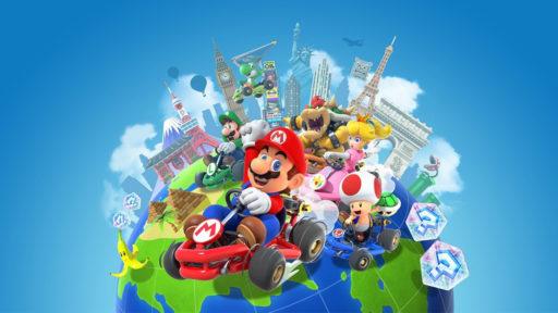 Mario Kart-multiplayer