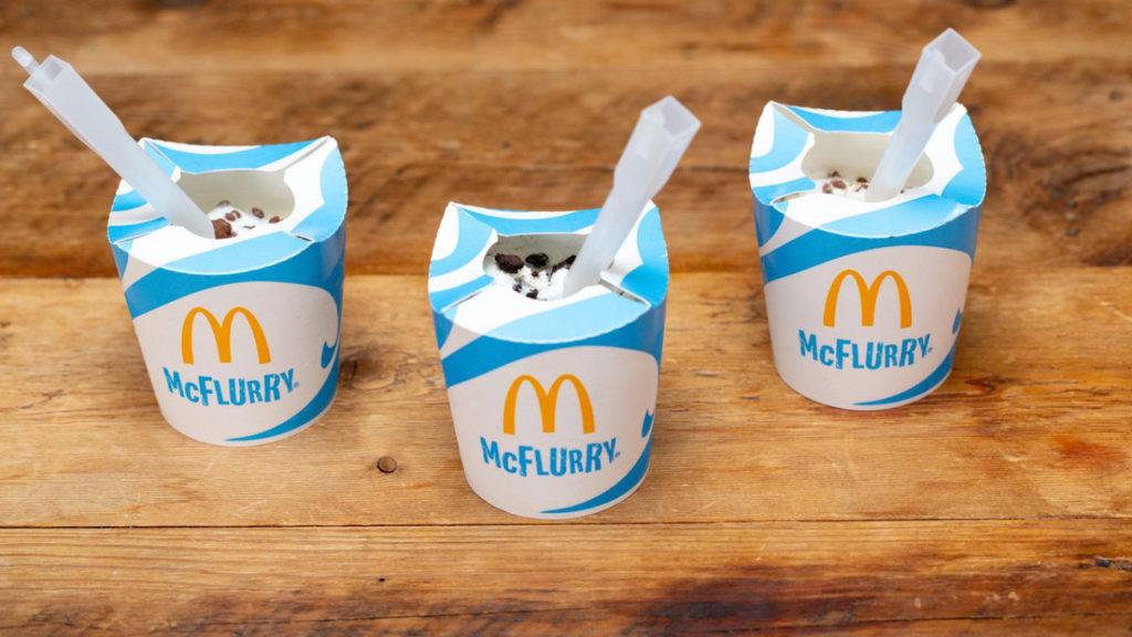 McDonald's lanceert vegan McFlurries