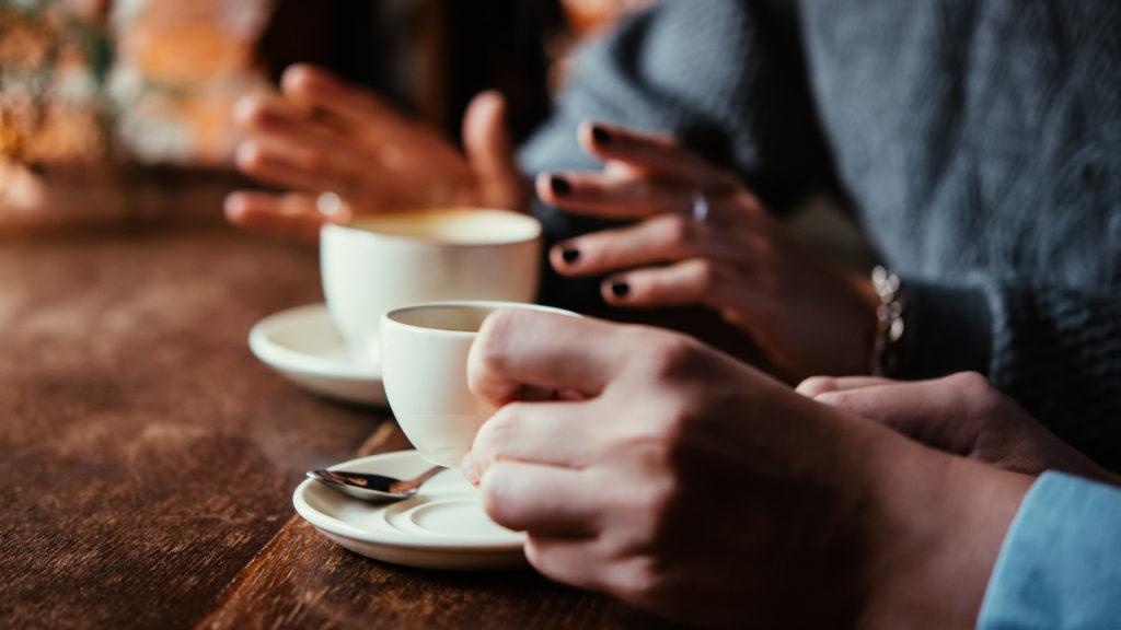 Meeting Koffie Microsoft
