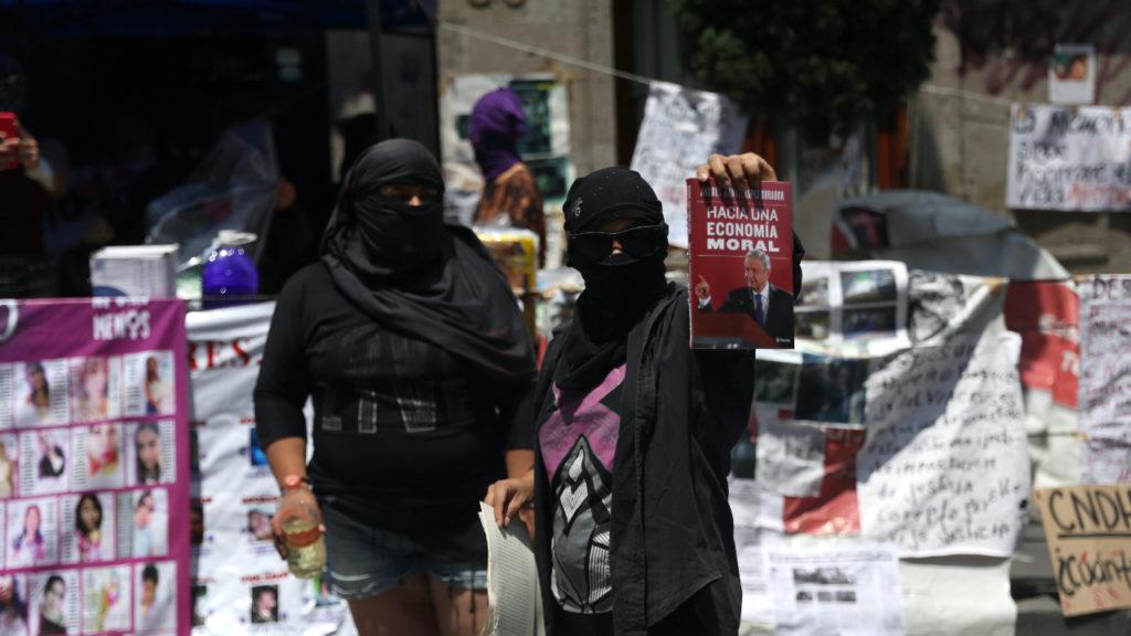 Mexico City protesten