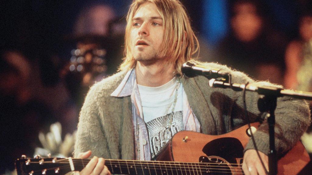 Nirvana Kurt Cobain Gitaar Veiling MTV Unplugged
