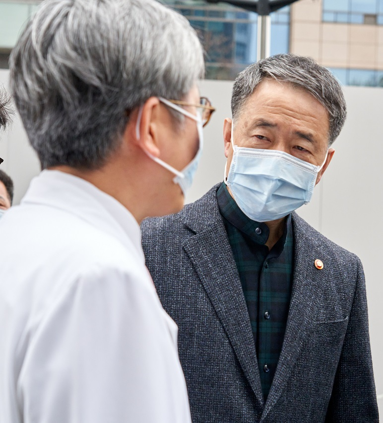 Park Neung-hoo minister Volksgezondheid Zuid-Korea