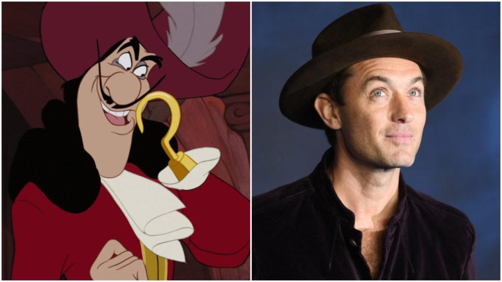 Peter Pan & Wendy Jude Law Captain Hook Disney