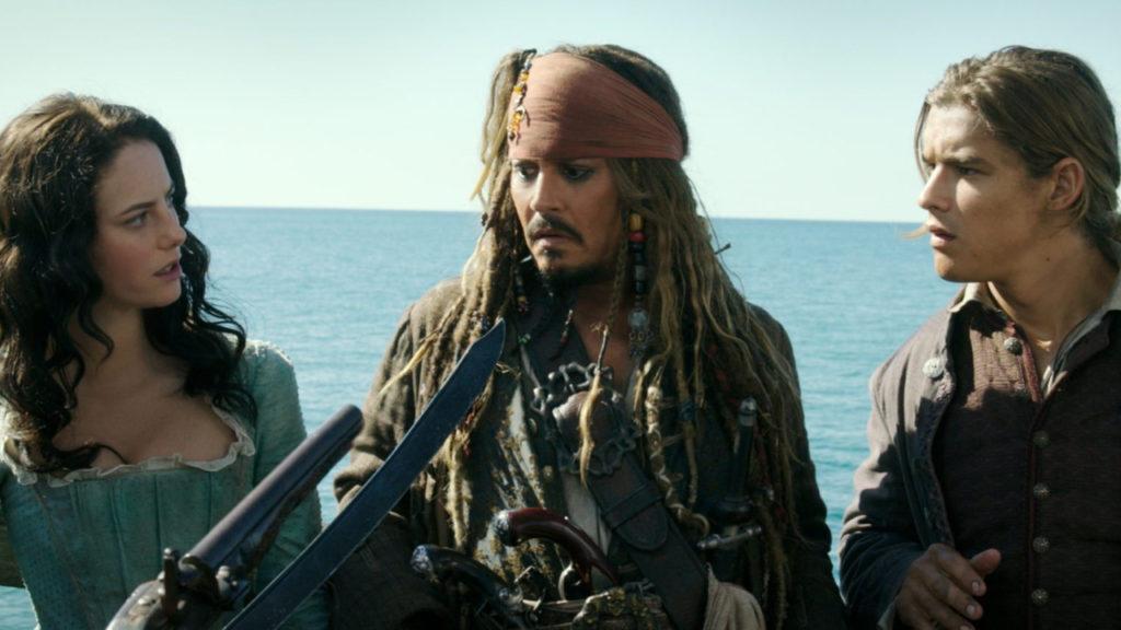 Pirates of the Caribbean Carina Smyth Jack Sparrow Henry Turner