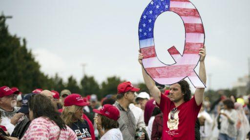 QAnon betoging VS