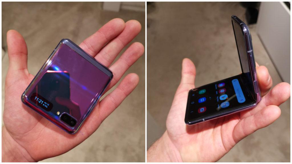 Samsung Galaxy Z Flip toe