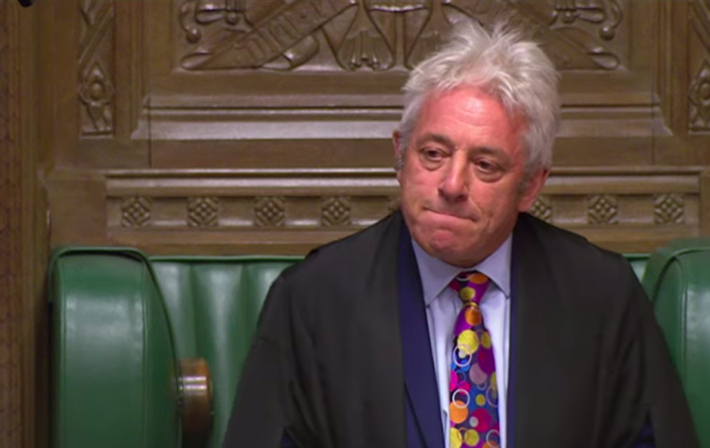 John Bercow neemt ontslag als voorzitter van het Britse parlement