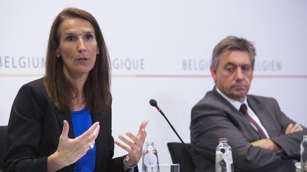 Sophie Wilmès Jan Jambon Nationale Veiligheidsraad persconferentie