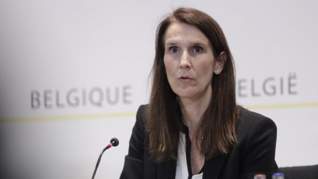Sophie Wilmès Nationale Veiligheidsraad