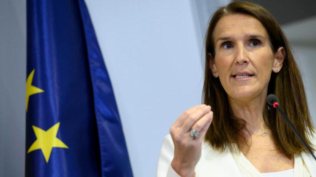Sophie Wilmes Nationale Veiligheidsraad