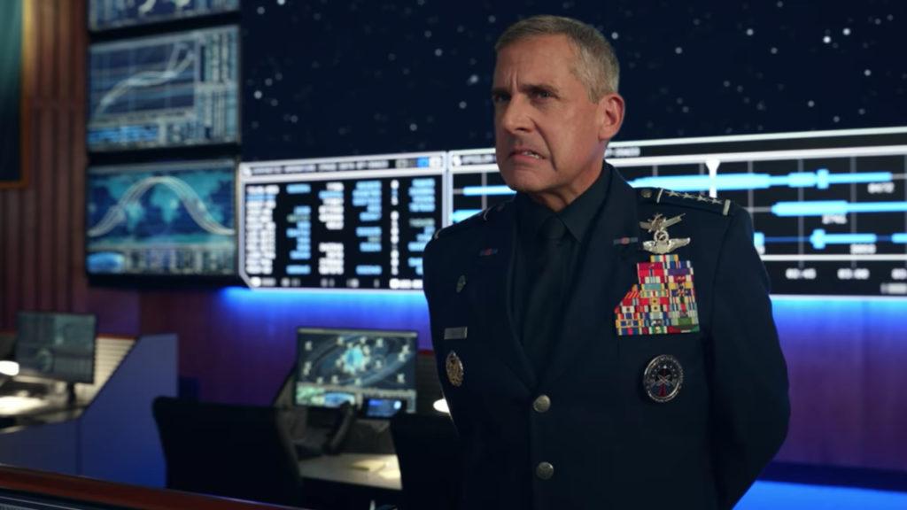 Space Force Steve Carell Netflix
