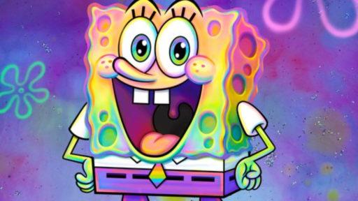 SpongeBob Squarepants Pride Nickelodeon