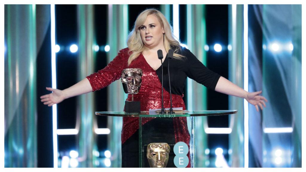 Rebel Wilson doet opvallende speech tijdens BAFTA's
