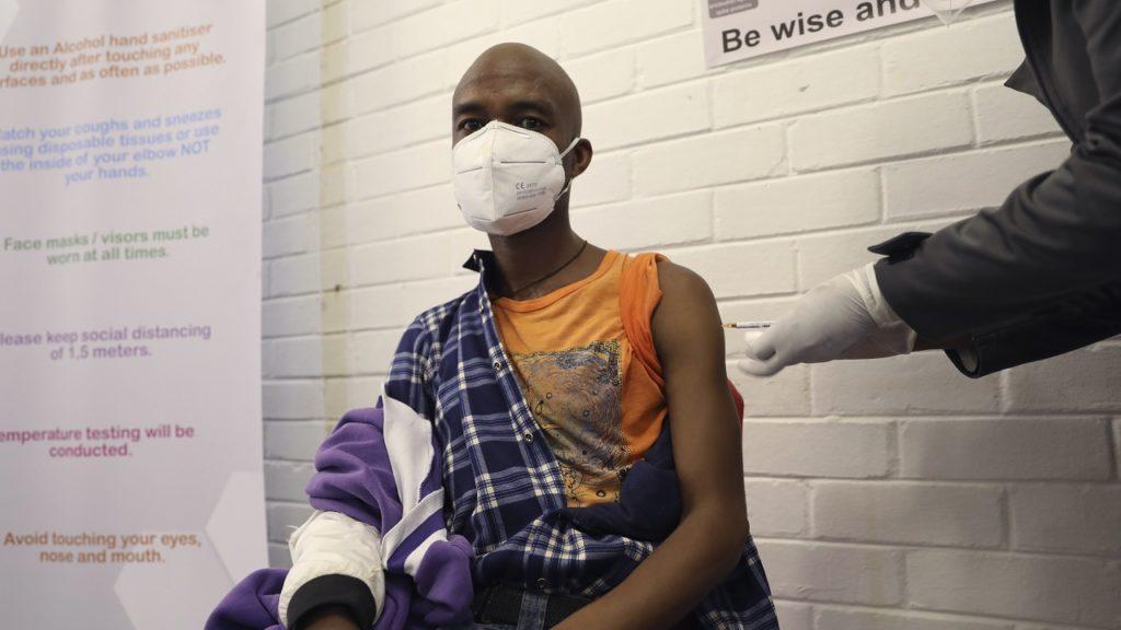 Vaccin test Zuid-Afrika Oxford