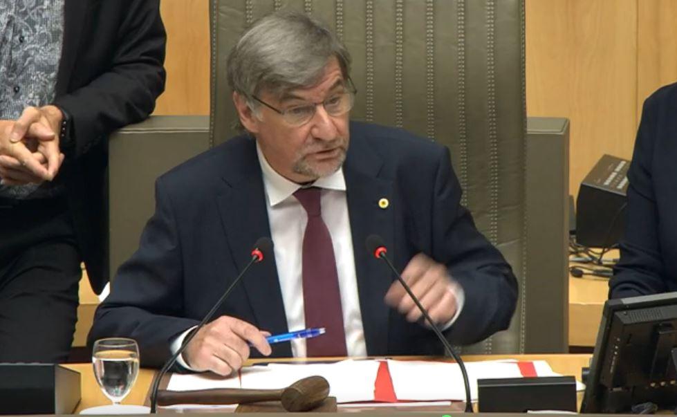 Wilfried Vandaele wordt aangesteld als tijdelijk Vlaams Parlementsvoorzitter