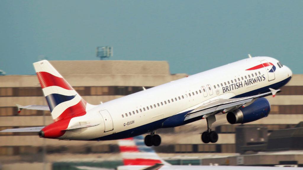Vlucht van NY naar Londen landt twee uur te vroeg