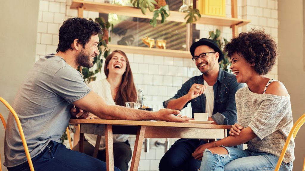 Vrienden tafel