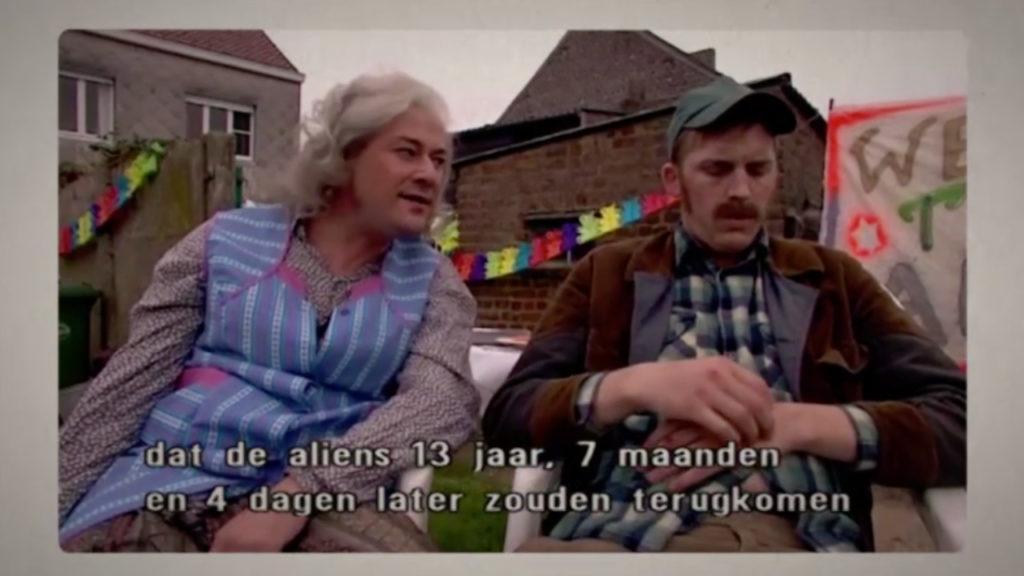Willy's en Marjetten alien