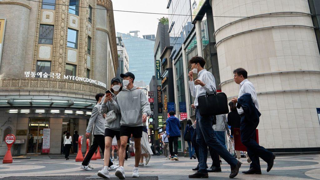 Zuid-Korea Seoul coronavirus