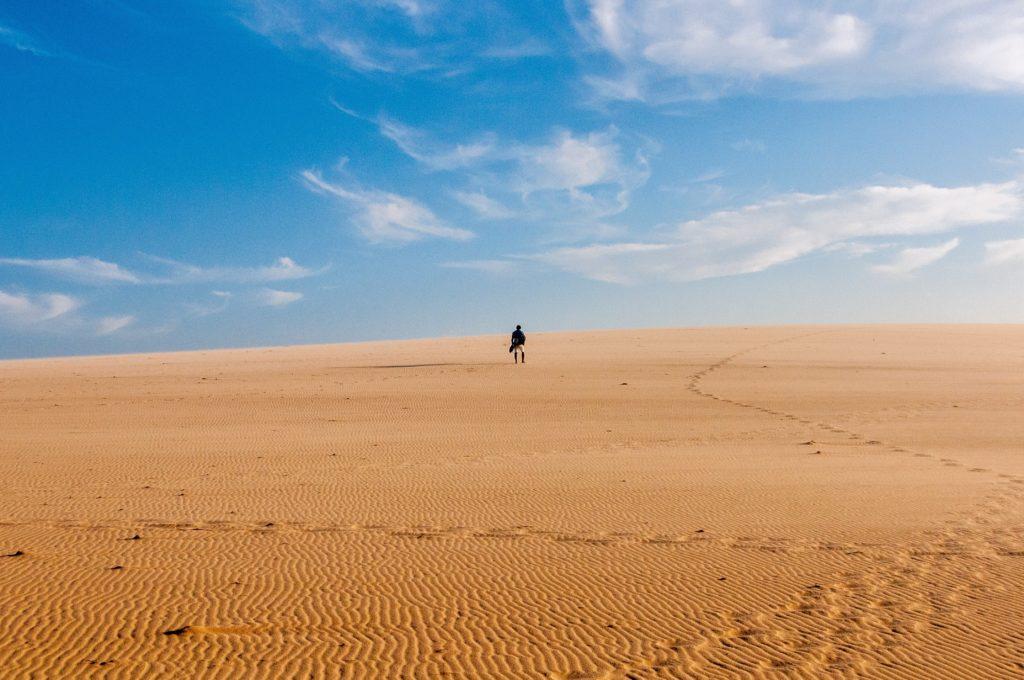 Woestijn, hitte, hittegolf