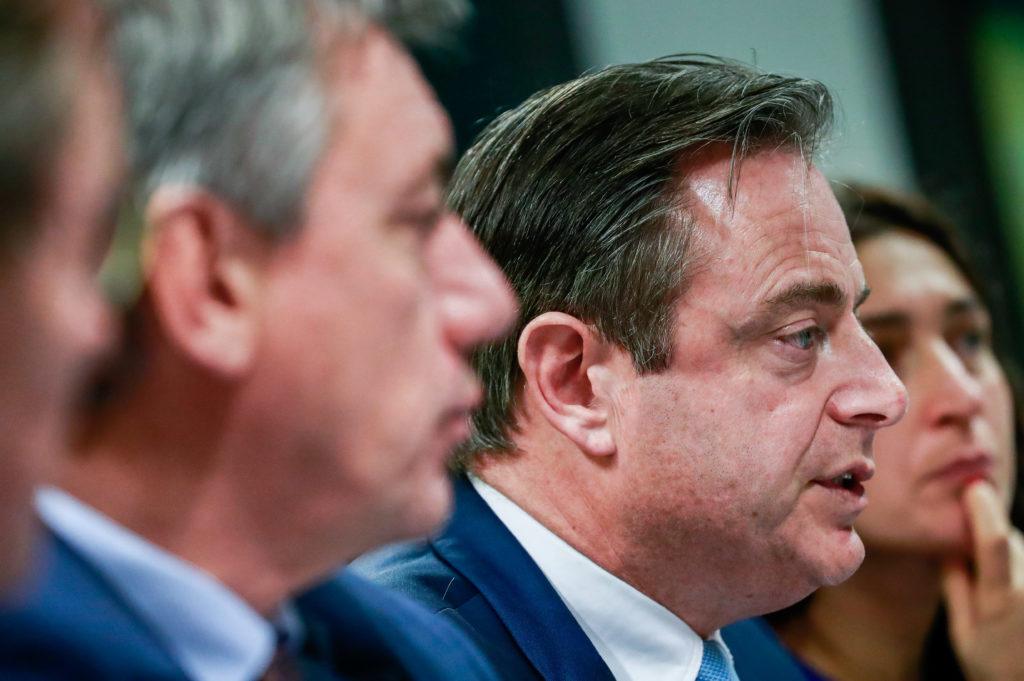 N-VA-kopstukken Bart De Wever, Jam Jambon en Zuhal Demir