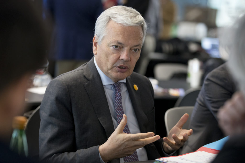 Informateur Didier Reynders (MR)