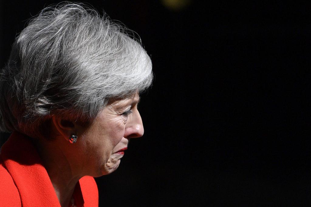 Theresa may ontslag
