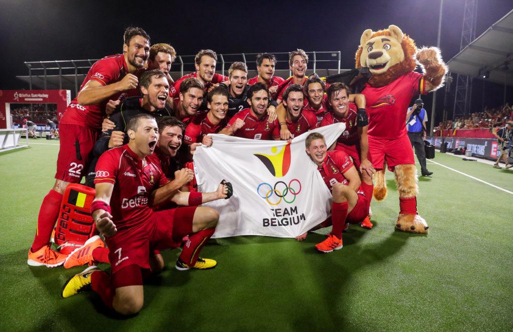 Red Lions Europees Kampioen