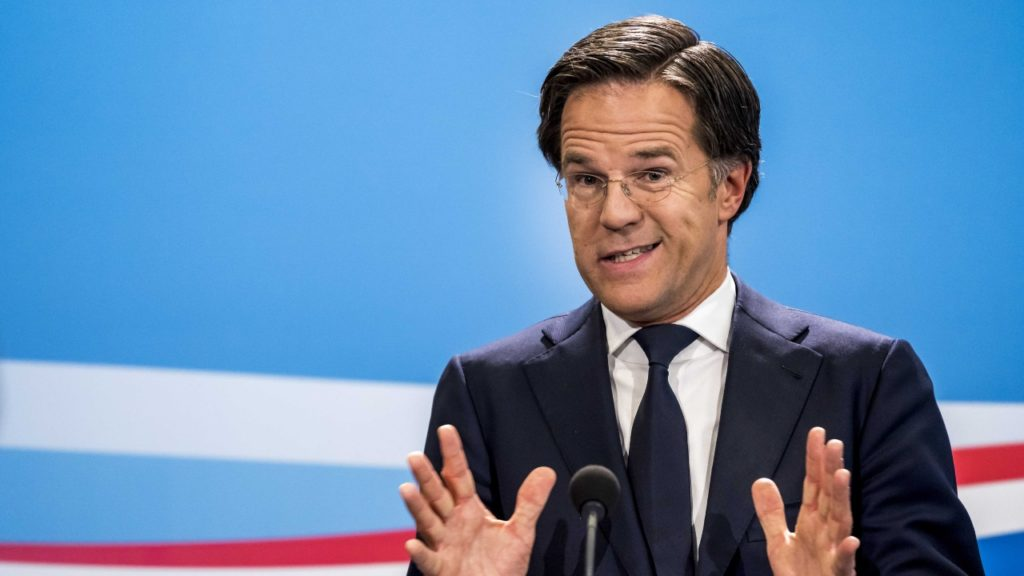 Mark Rutte black lives matter zwarte piet