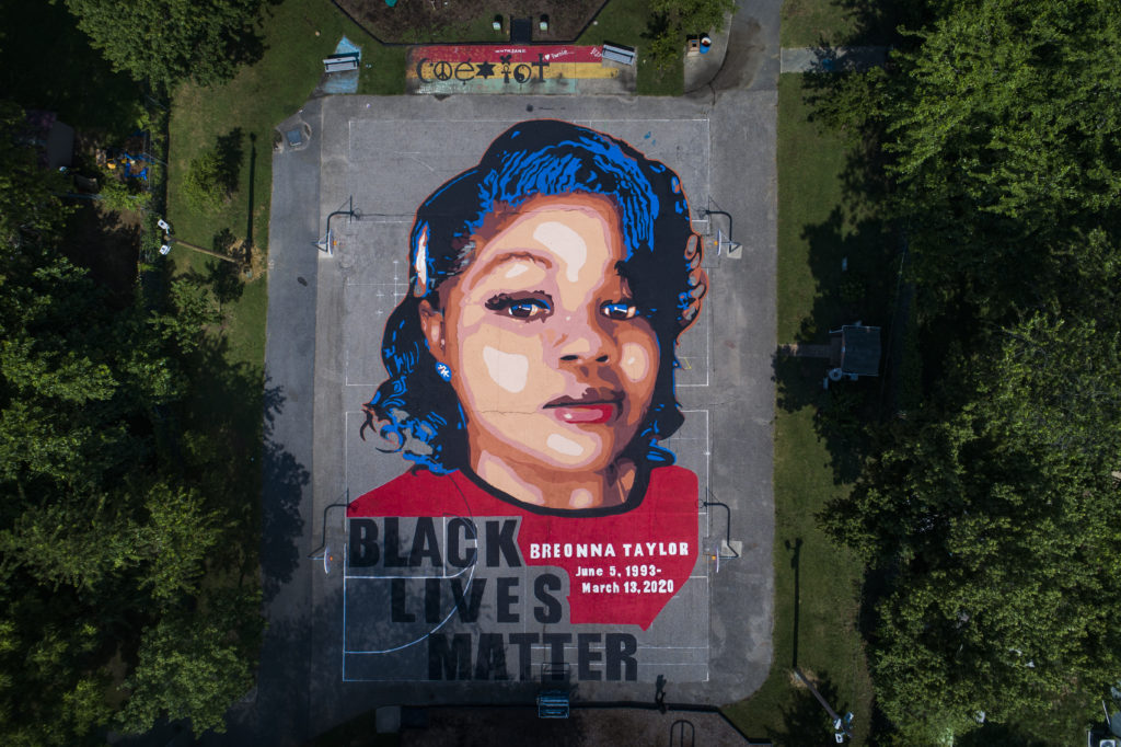 Breonna Taylor mural in Annapolis, Maryland