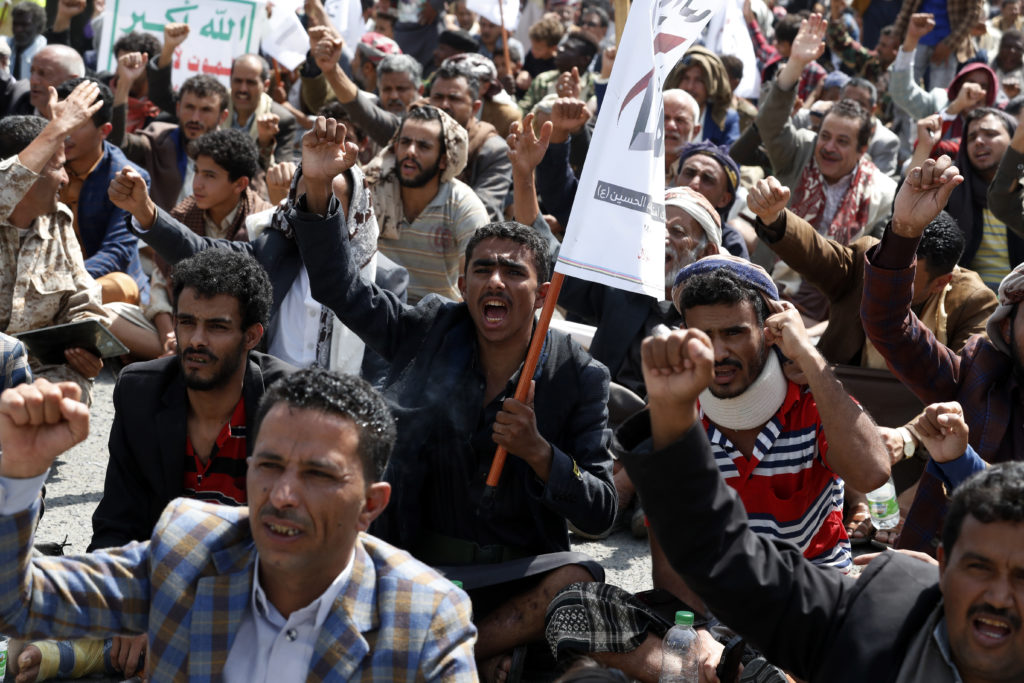 Jemen protest