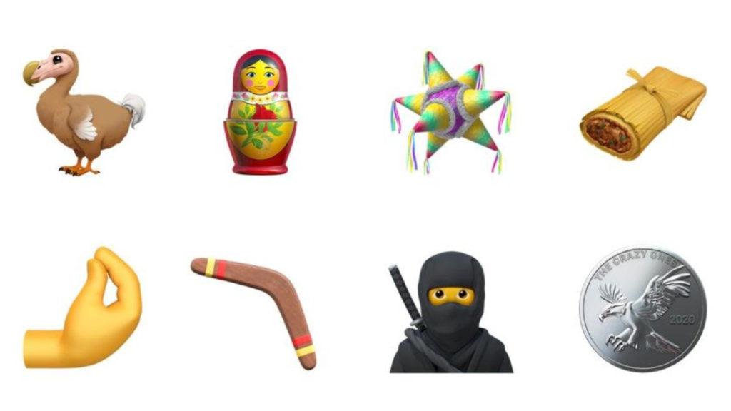 nieuwe emoji ios