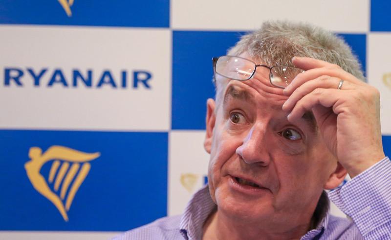 Michael O'Leary. - EPA