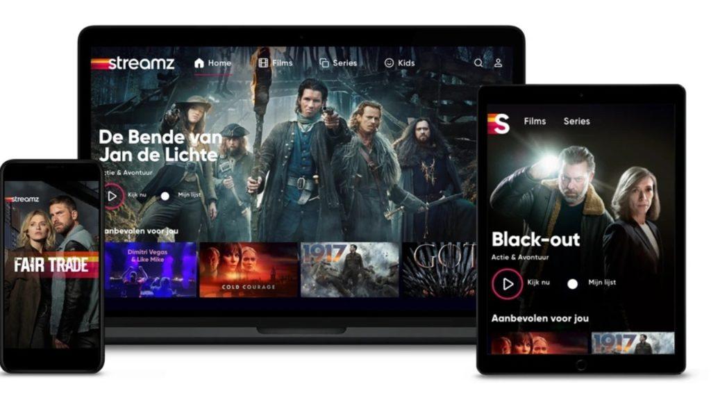 Streamz aanbod Vlaamse Netflix